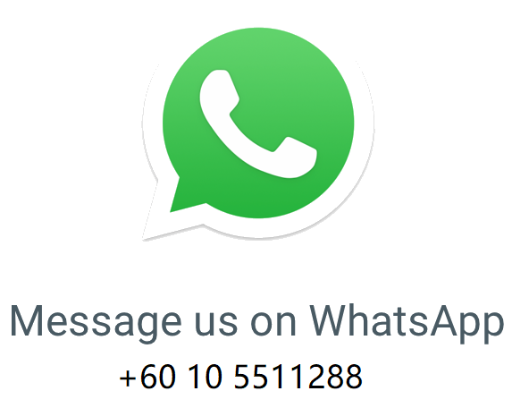 Whatsapp us here.