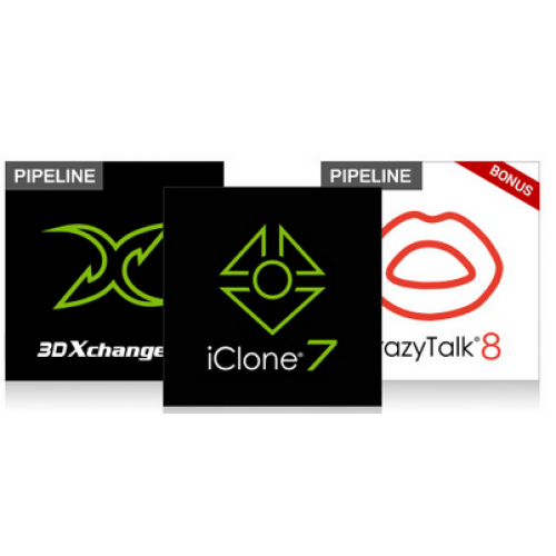 iClone 7 Animation Pipeline, Windows, ESD Download