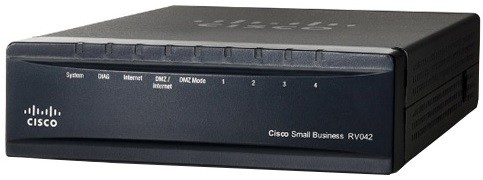Cisco RV042 Router - 6 Ports - SlotsFast Ethernet  Malaysia Reseller