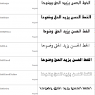 Arabic Fonts Collection 1 Malaysia Reseller