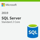 Microsoft SQL Server Standard - 2 Core License Pack - 1 Year