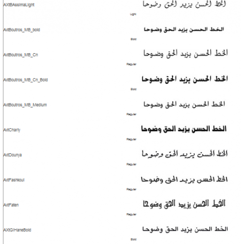 Malaysia Price Arabic Fonts Collection 1 Malaysia Reseller Buy Software