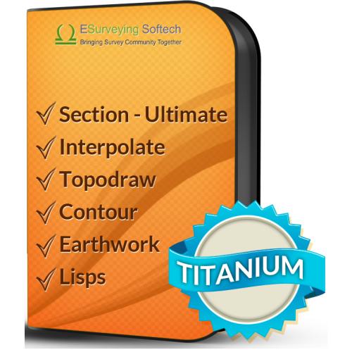 ESurvey CADD - Titanium Pack
