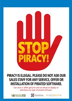 Our online store is 100% genuine and we refuse to display or distribute any type of pirated software.